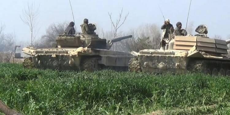 Syrie: le régime continue d'avancer dans la Ghouta orientale