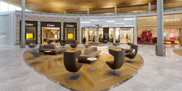 Aéroports : leurs centres commerciaux sont de plus en plus chics
