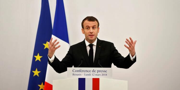 Inde: Macron dit sa confiance pour les EPR et l'avenir des Rafale