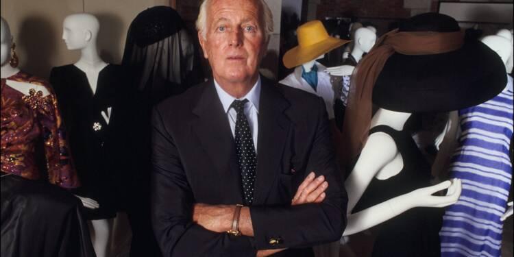Le couturier Hubert de Givenchy est mort