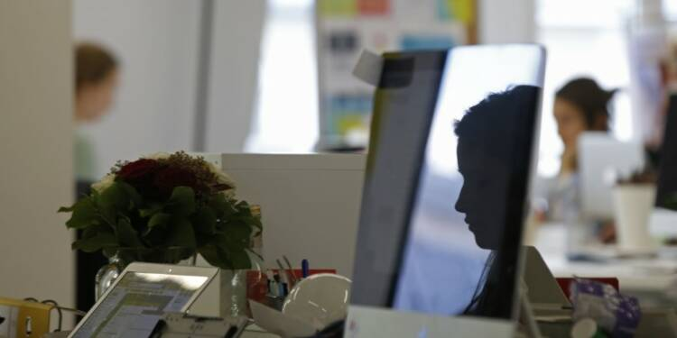 L'emploi salarié en France en hausse de 1,1% fin 2017