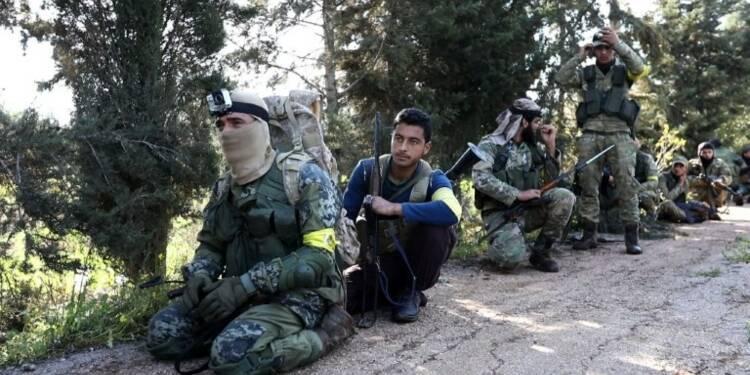 Syrie: les rebelles soutenus par la Turquie aux abords d'Afrine