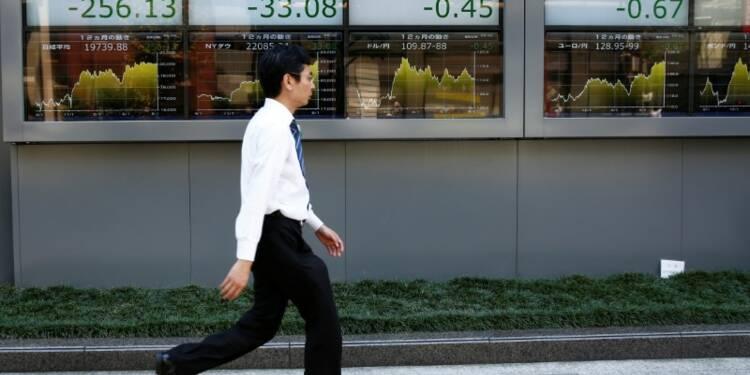 Tokyo finit en baisse, les tensions commerciales pèsent