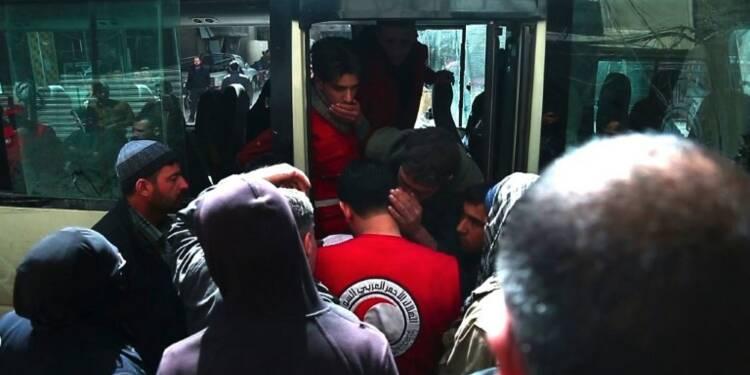 Syrie: deuxième jour d'évacuations médicales dans la Ghouta