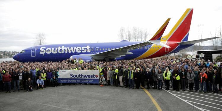 Boeing réfléchit aux moyens d'accroître sa production de 737