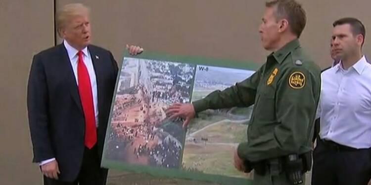 Trump inspecte les prototypes de mur à la frontière mexicaine