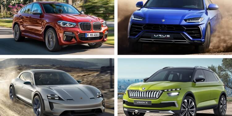 Lamborghini Urus, BMW X4, Jaguar I-Pace... les meilleurs SUV du Salon de l'auto de Genève en images