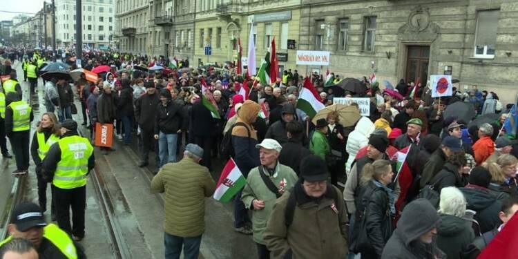 Hongrie : mobilisation des pro-Orban avant les élections