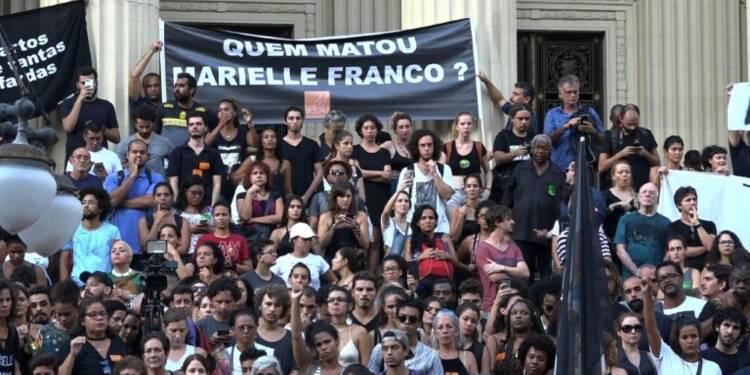 Brésil: nouvelles manifestations après la mort d'une élue noire