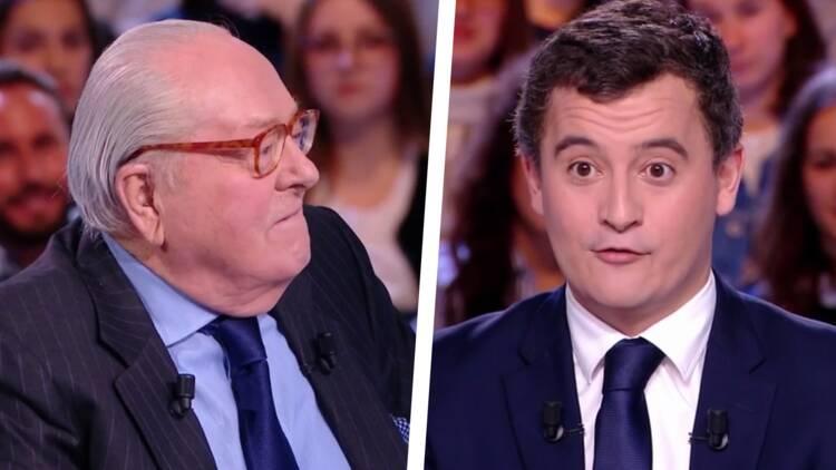 Zapping politique : Gérald Darmanin affronte Jean-Marie Le Pen dans l'Émission politique