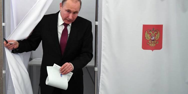 Vladimir Poutine réélu triomphalement, sur fond de soupçons de fraude