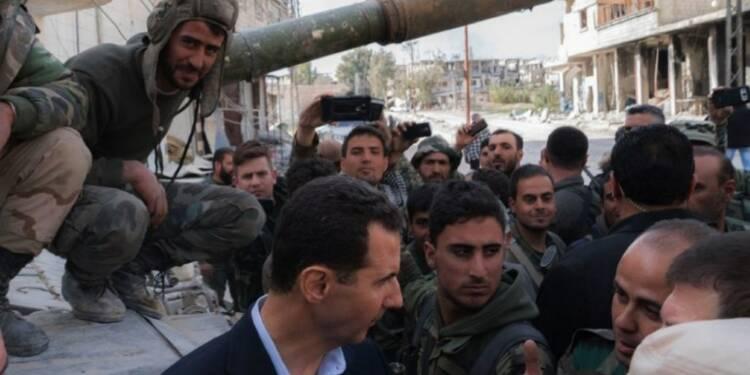 Syrie: Assad auprès de troupes du régime dans la Ghouta