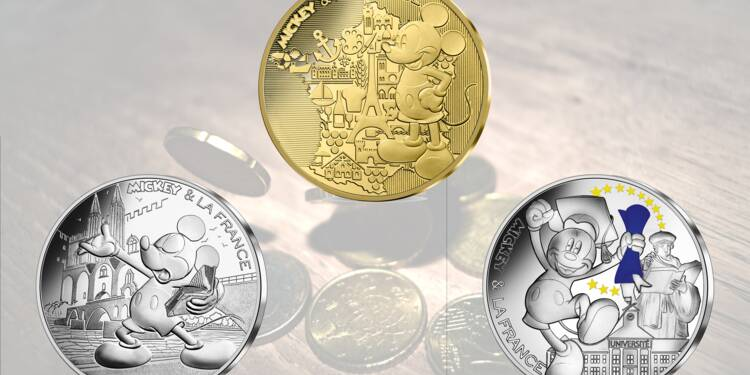 Les nouvelles pièces en euros griffées Mickey sont-elles un bon placement ?