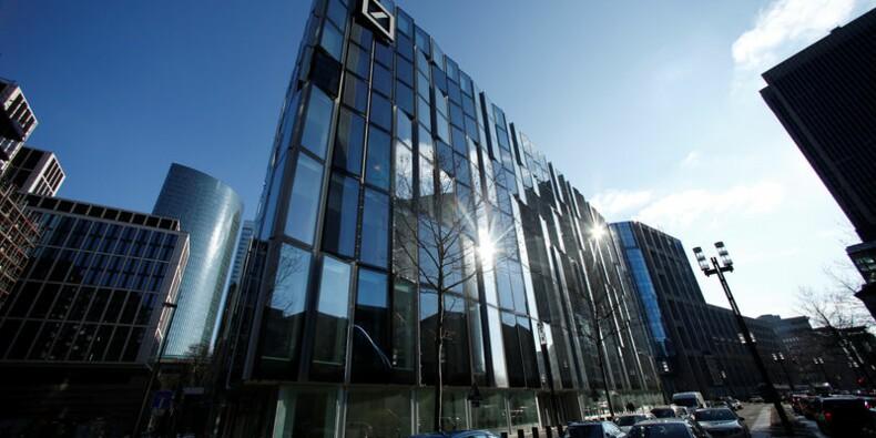 Deutsche Bank voit son 1e trimestre pénalisé de 450 millions d'euros