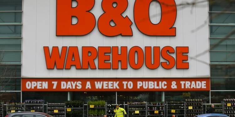 Kingfisher prudent sur le marché britannique, le titre chute