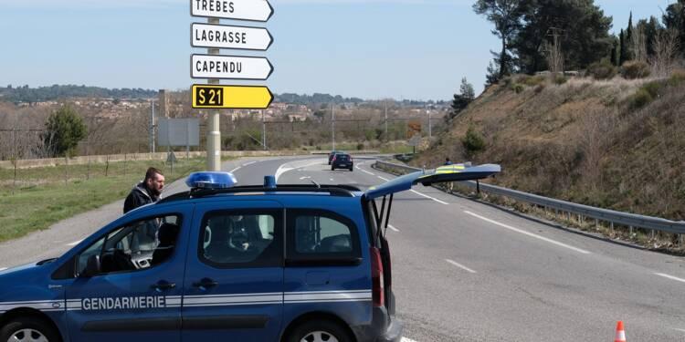 Prise d'otages terminée dans un Super U, à Trèbes dans l'Aude : l'homme a été abattu