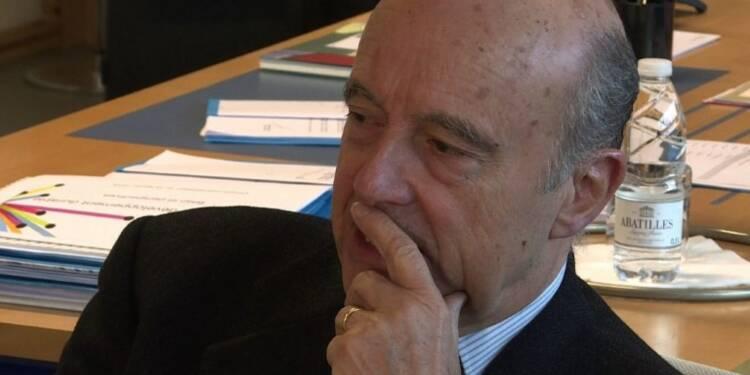 Juppé réagit à l'intervention de Sarkozy sur TF1