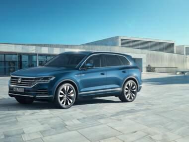 Nouveau Volkswagen Touareg en images