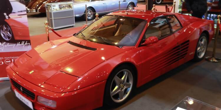 La Ferrari de Johnny s'est envolée aux enchères !