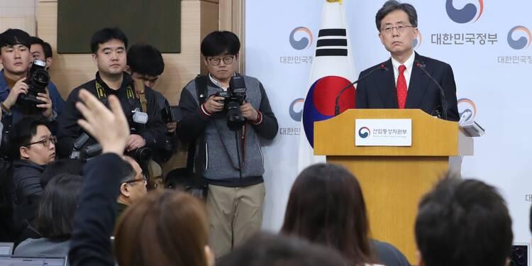 """Commerce: traité """"historique avec la Corée du Sud, selon Washington"""