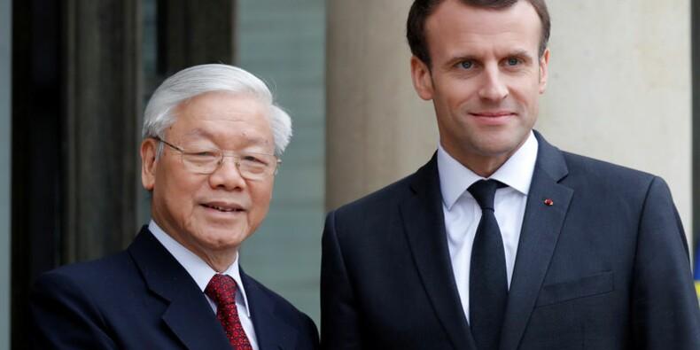 Bouygues et EDF concluent des accords avec le Vietnam