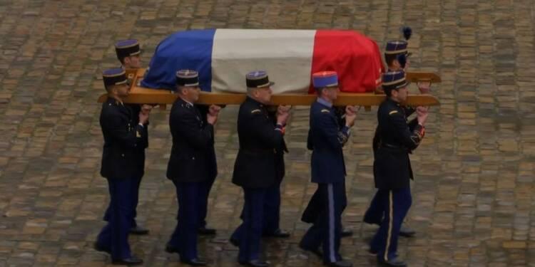 Cérémonie d'hommage national au colonel Beltrame