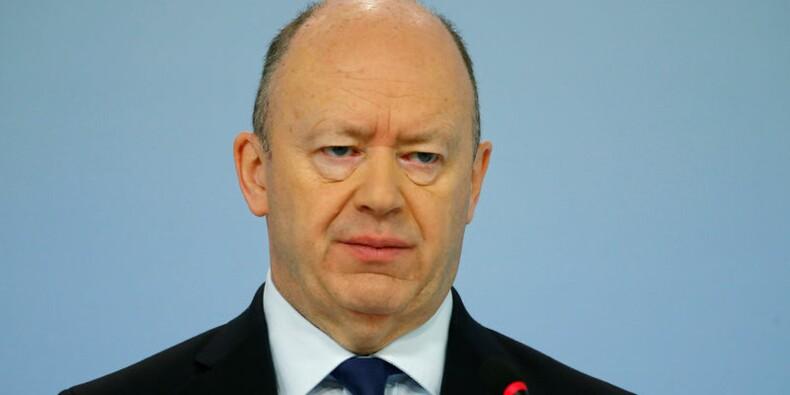 John Cryan se dit pleinement engagé envers Deutsche Bank