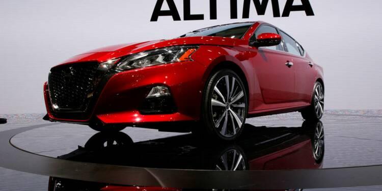 USA: Nissan lance son Altima dans un marché des berlines déprimé