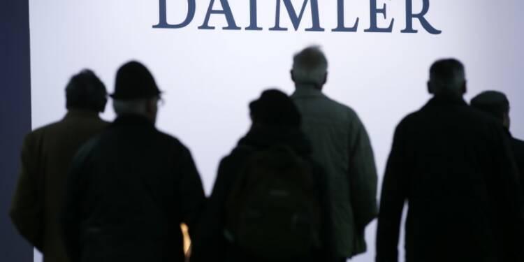 Daimler et BMW fusionnent leurs services de mobilité