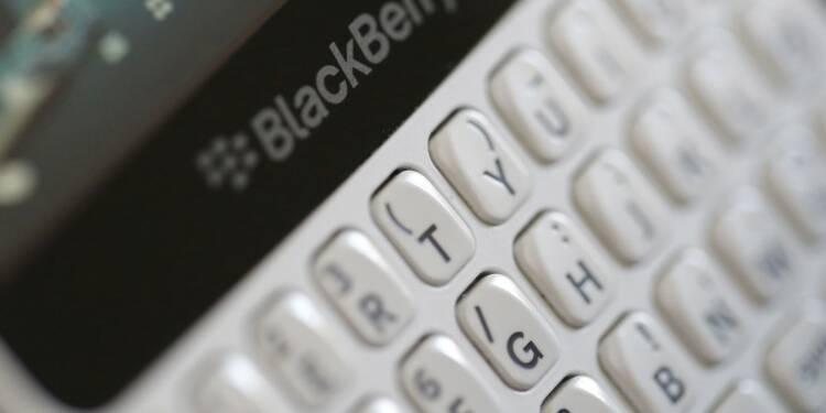 BlackBerry bat le consensus avec son BPA, le titre grimpe