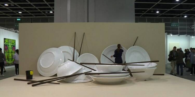 Hong Kong: l'édition 2018 d'Art Basel ouvre ses portes