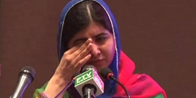 Pakistan: les larmes de Malala, enfin de retour dans son pays