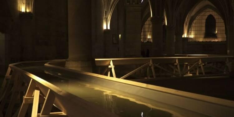 Paris: l'eau de la Seine
