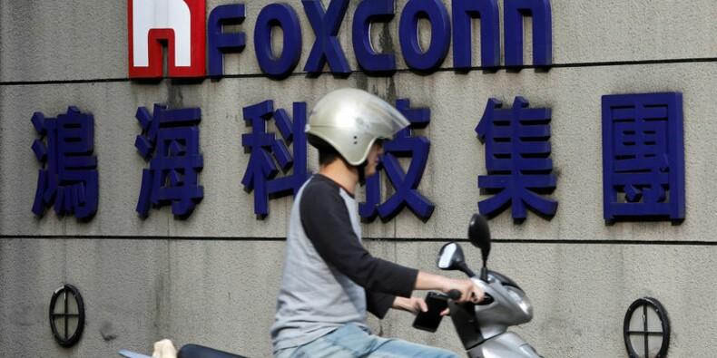 Foxconn annonce une hausse de 4,2% de son bénéfice au 4e trimestre
