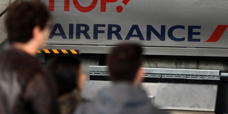 Air France prévoit d'assurer 75% de ses vols mardi
