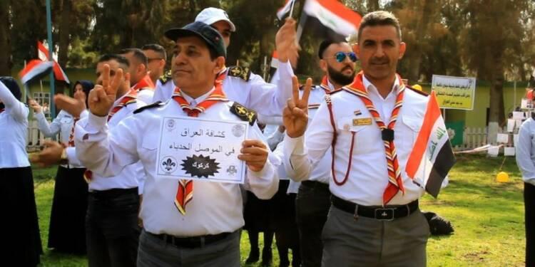 A Mossoul, le scoutisme irakien reprend vie