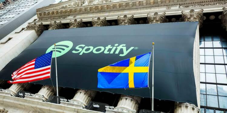 27 milliards de dollars : carton de Spotify pour son entrée en Bourse