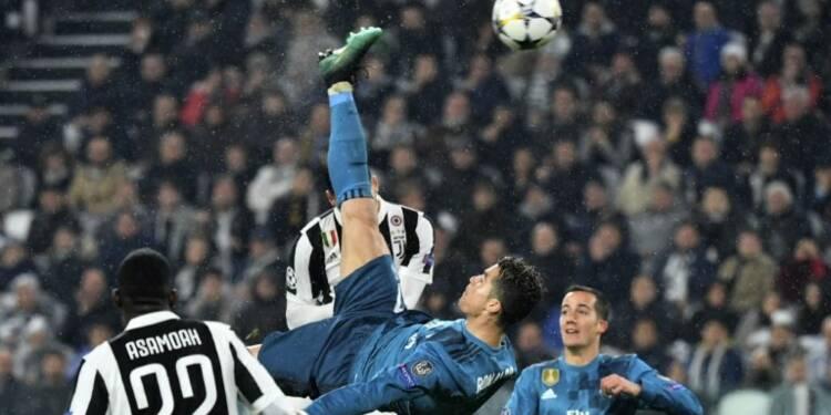 Ligue des champions: Ronaldo offre un retourné de rêve