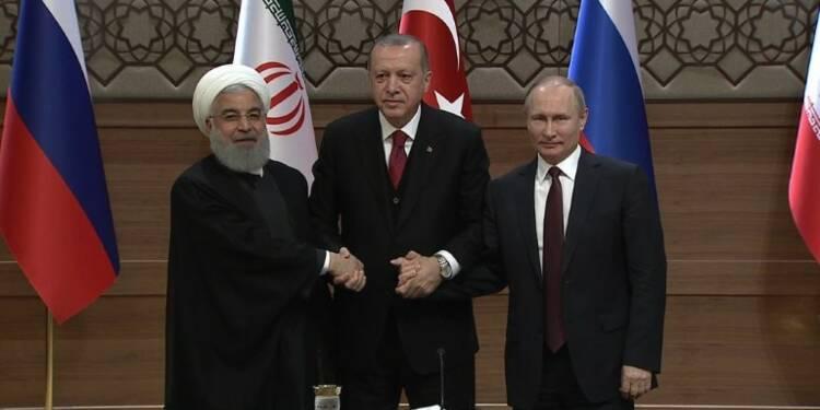 Syrie: Turquie, Russie et Iran pour un