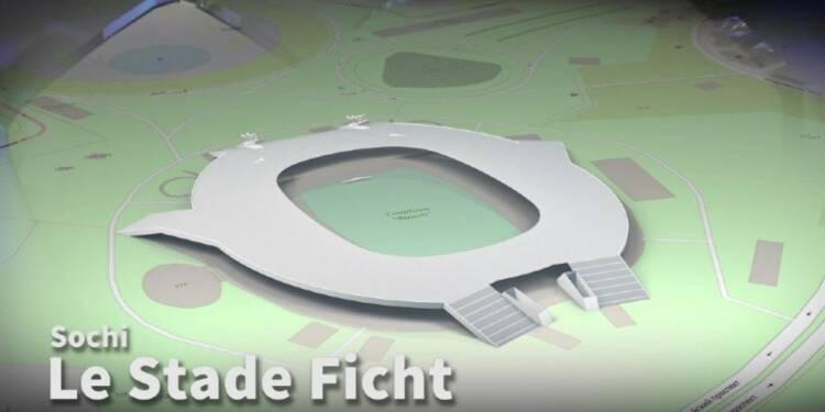 Le stade Ficht de Sochi