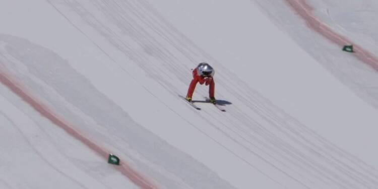 Ski de vitesse - Simon Billy, une chute et un retour