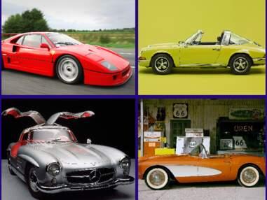 Ferrari F40, Porsche 911, Ford Mustang… 10 voitures qui ont marqué l'histoire de l'automobile
