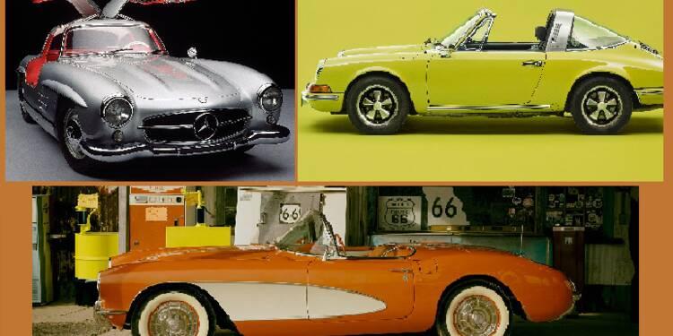 Ferrari F40, Porsche 911, Ford Mustang... 10 voitures qui ont marqué l'histoire de l'automobile
