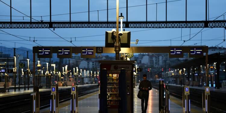 Grève de la SNCF : les prévisions de trafic pour lundi