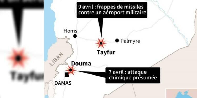 Syrie : frappes contre une base militaire