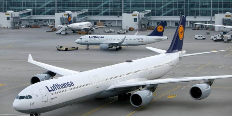 Lufthansa annule des vols, grève du secteur public allemand