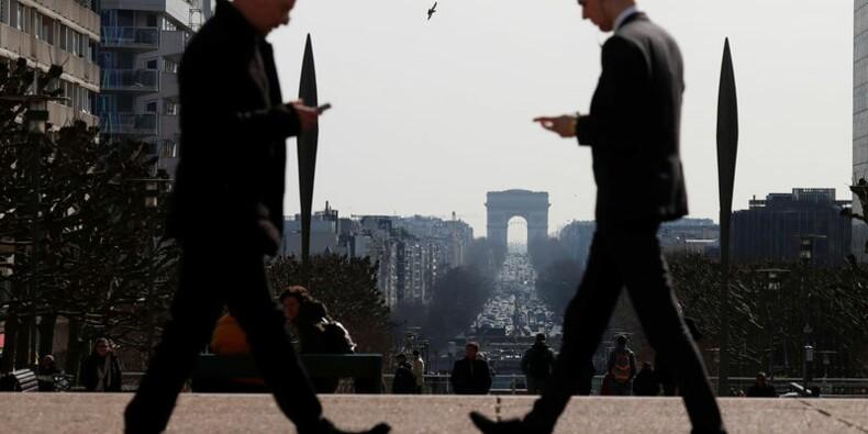 France: Bond des intentions d'embauches des entreprises