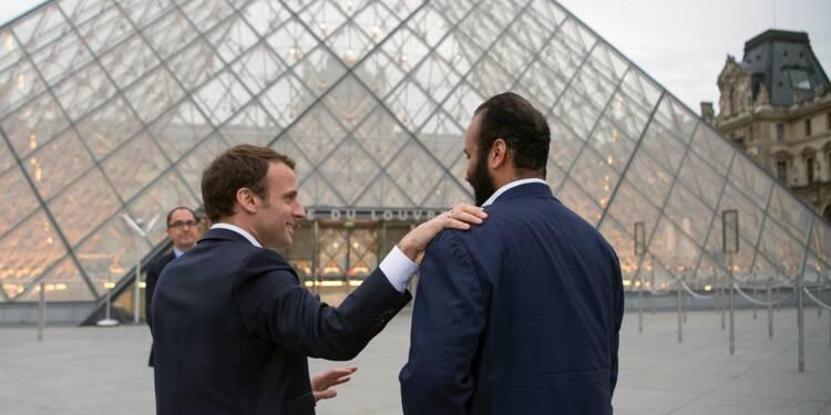 Le prince héritier saoudien achève sa visite officielle en France après avoir rencontré Hariri