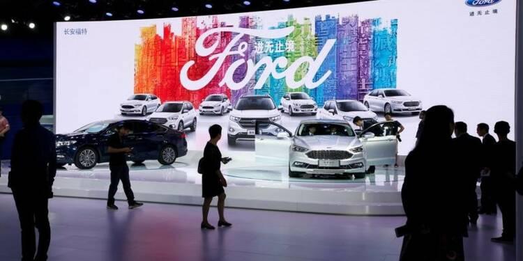 Ford lance cinq nouveaux modèles en Chine