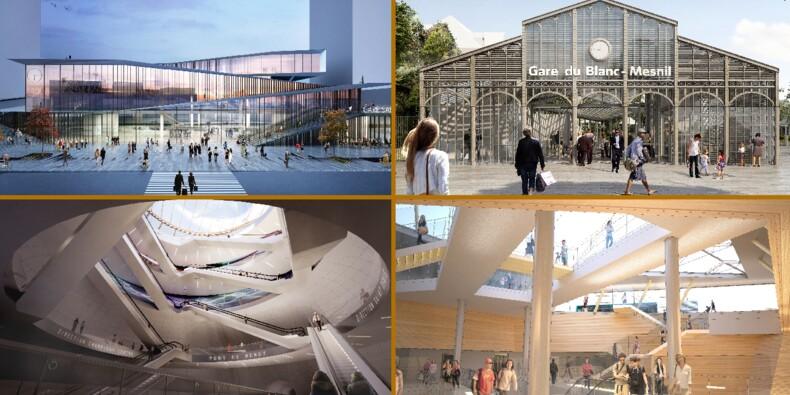 Découvrez en images les gares futuristes du Grand Paris